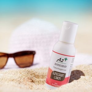 Chemical free sun screen lotion