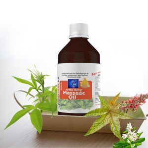 Gomutra massage oil