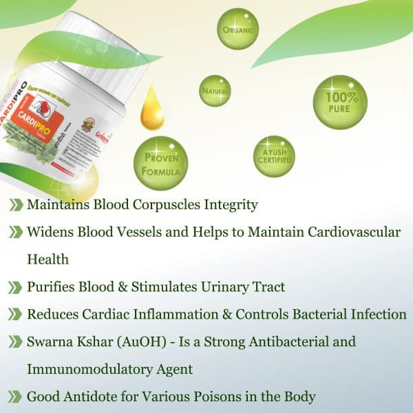 gomutra tablets for heart