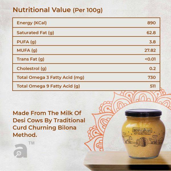 a2 ghee nutrition