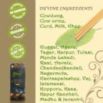 chemical free agarbatti ingredients